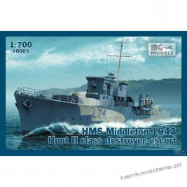 HMS Middleton 1943 Hunt II class destroyer escort - IBG 70005