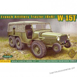 Laffly Hotchkiss W-15T French Artillery tractor (6x6) - ACE 72536