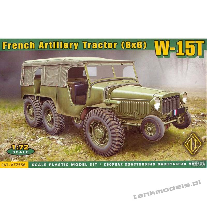 W-15T French Artillery tractor (6x6) - ACE 72536