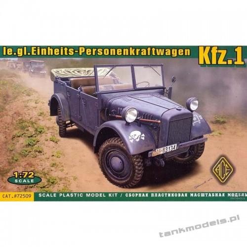 Kfz.1 le.gl.Einheits-Personenkraftwagen - ACE 72509