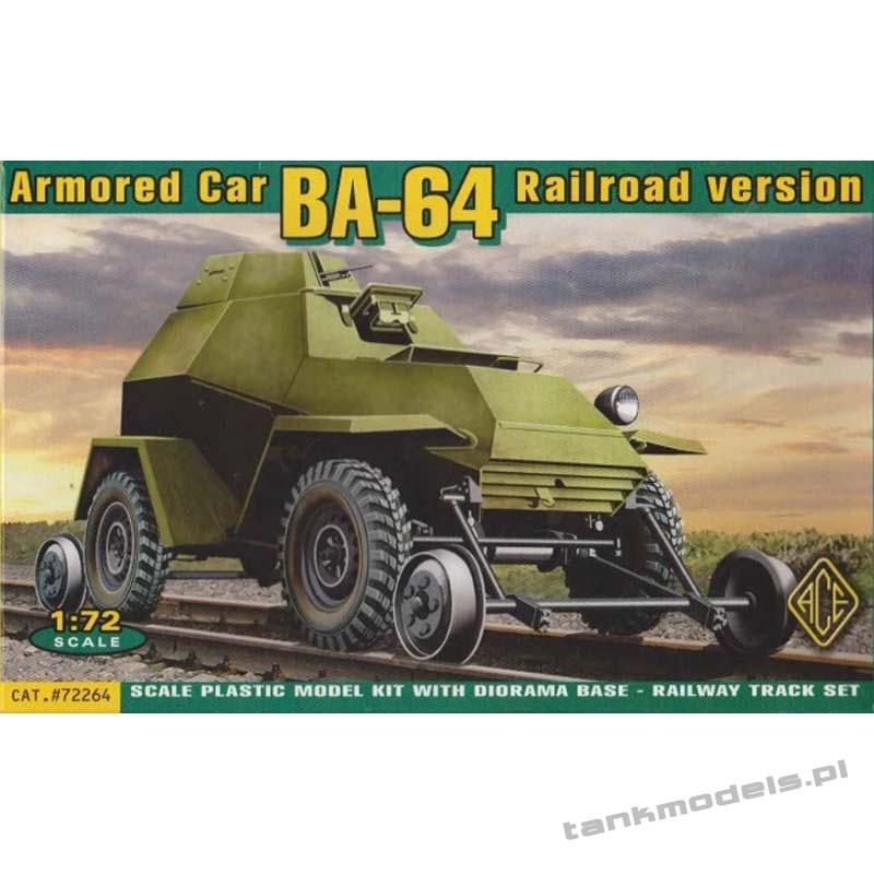 Ba-64 V/G Railroad versions - ACE 72264