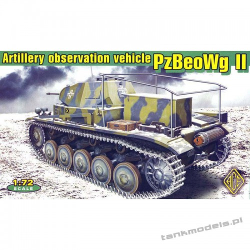 PzBeoWg II German artillery observation vehicle - ACE 72270