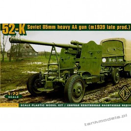 52-K 85mm Soviet Heavy AA gun (late version) - ACE 72274