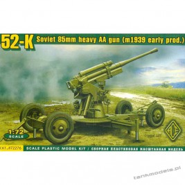 52-K 85mm Soviet heavy AA gun (early version) - ACE 72276