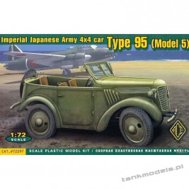 Kurogane Imperial Japanese Type 95 personnel carrier Model 5 (WW2) - ACE 72297