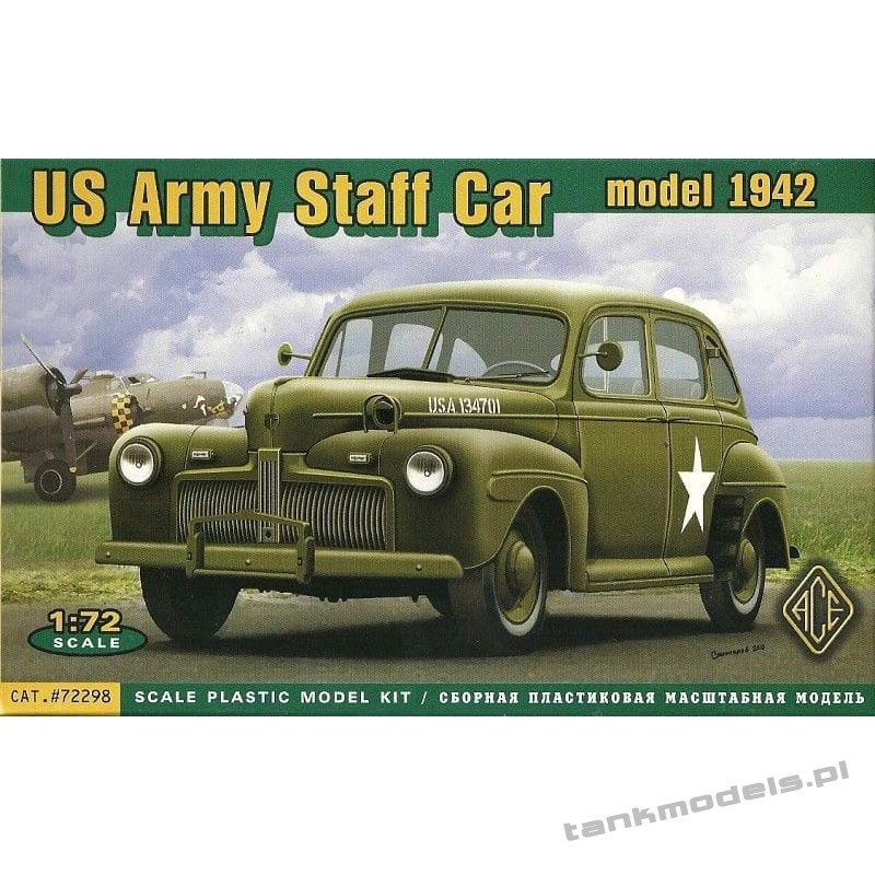 US Army Staff Car model 1942 - ACE 72298
