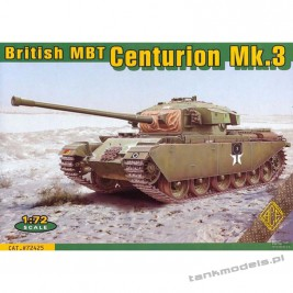 British MBT Centurion Mk.3 (Korean war) - ACE 72425