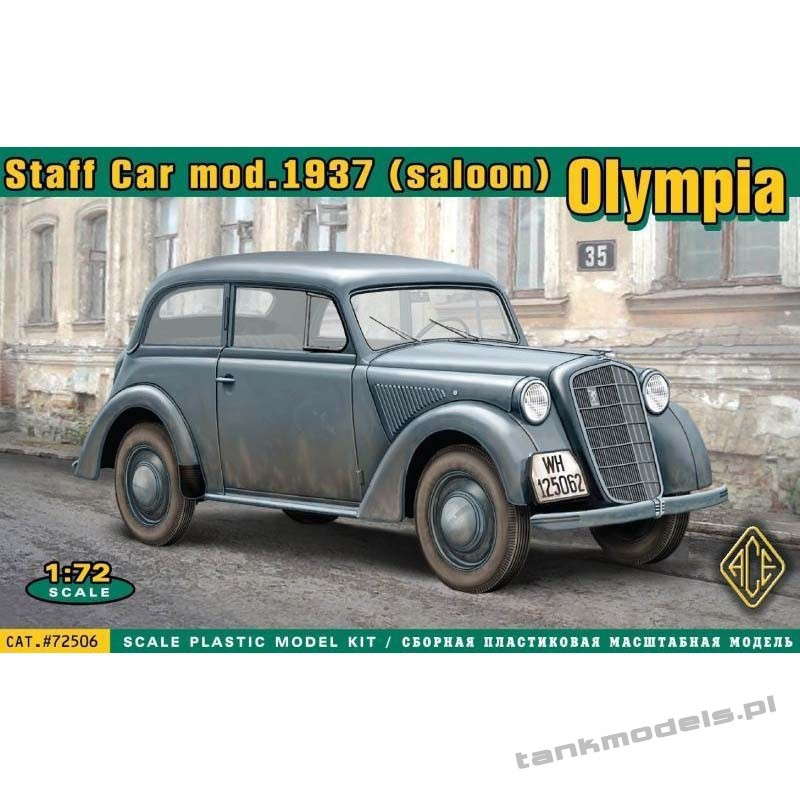 1937 Olympia Stabswagen - ACE 72506