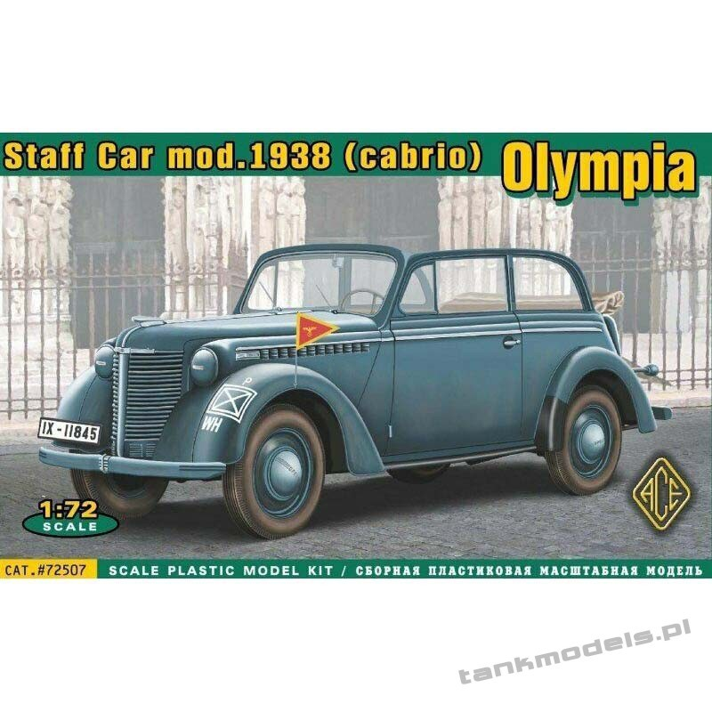 1938 Olympia Stabswagen (Staff Car) Cabriolet - ACE 72507