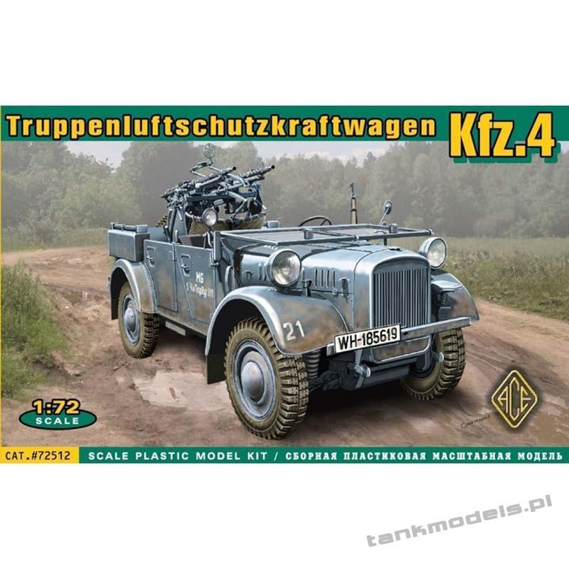 Kfz.4 light AA vehicle - ACE 72512