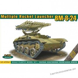 BM-8-24 multiple rocket launcher - ACE 72542