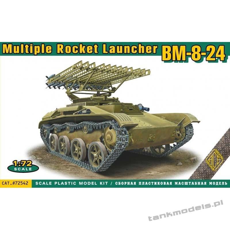 BM-8-24 multiple rocket launcher - ACE 72542