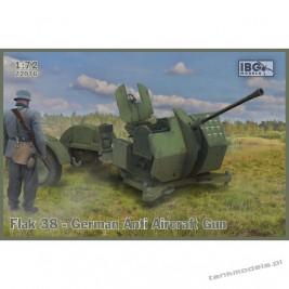 Flak 38 German Anti Aircraft Gun (2 in the box) - IBG 72076