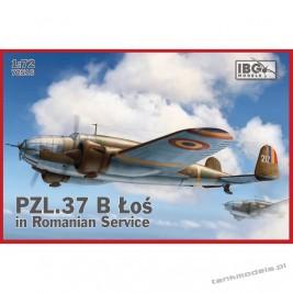 PZL. 37 Łoś B II in Romanian Service - IBG 72516