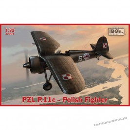 PZL P.11c Polish Fighter - IBG 32001