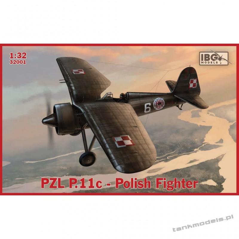 PZL P.11c Polish Fighter - IBG 32001