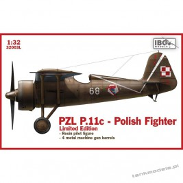 PZL P.11c Polish Fighter (Limitet Edition) - IBG 32003L