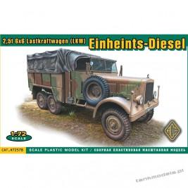 Einheints-Diesel 2,5t 6x6 LKW - ACE 72578