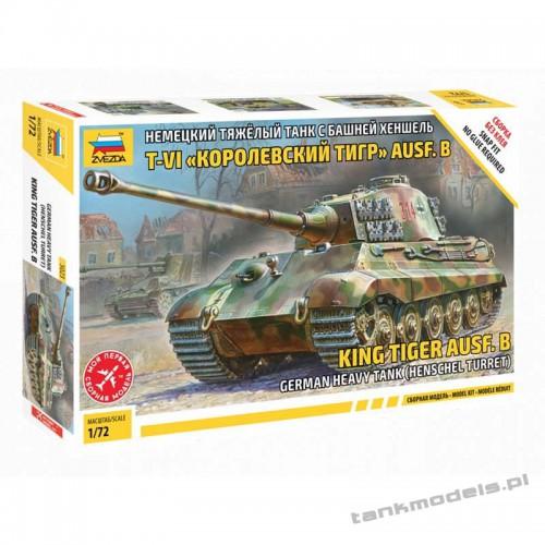 King Tiger Henschel - Zvezda 5023