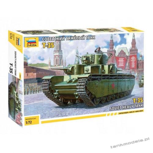 T-35 Soviet heavy tank - Zvezda 5061
