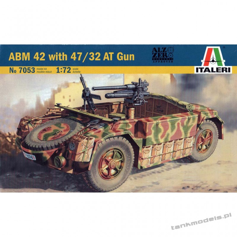 ABM 42 with 47/32 AT Gun - Italeri 7053