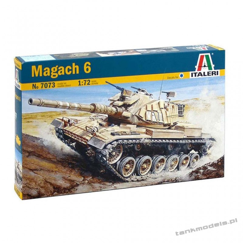 Magach 6 Israel Main Battle Tank- Italeri 7073