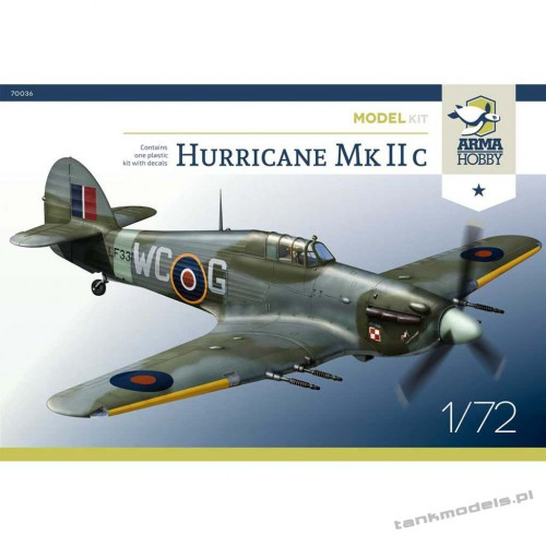 Hurricane Mk IIc (model kit) - Arma Hobby 70036