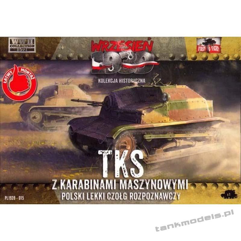 TKS w/Hotchkiss wz. 25 - First To Fight PL1939-15
