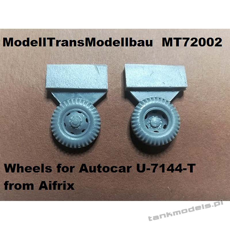 Wheels for Autocar U-7144-T from Aifrix - Modell Trans 72002