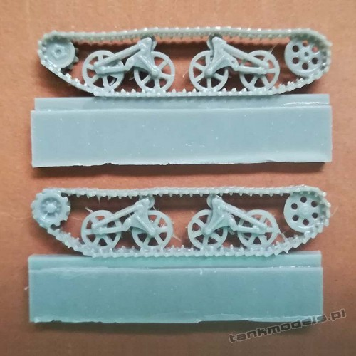 """Ford V3000 """"Maultier"""" Spoked tracked gear set (for IBG) - Modell Trans 72490"""