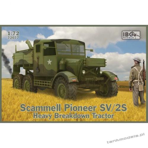 Scammell Pioneer SV2S Heavy Breakdown Tractor - IBG 72077