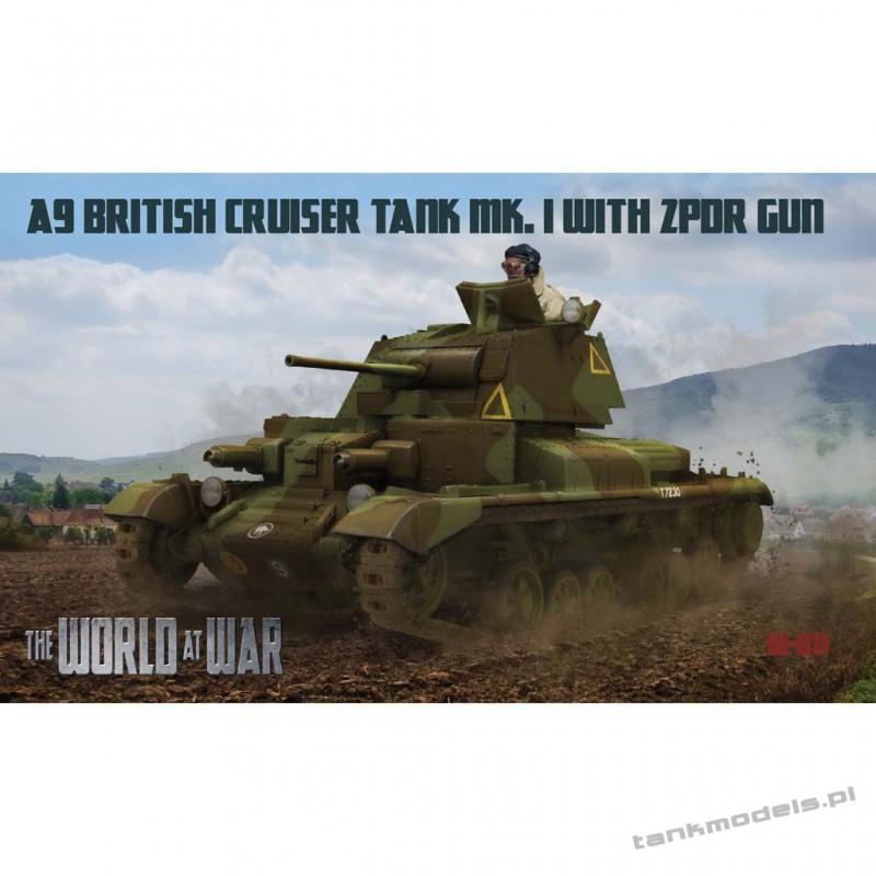 A9 British Cruiser Tank - World At War 011