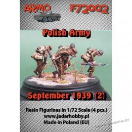 """Polska Piechota Wrzesień 1939 """"Do Ataku!"""" Set. 2 - ARMO F72002"""