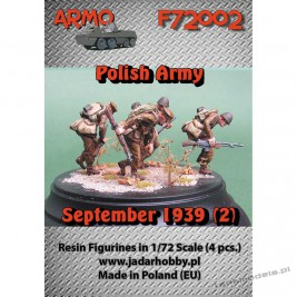 "Polish Infantry September 1939 ""Attack!"" Set. 2 - ARMO F72002"