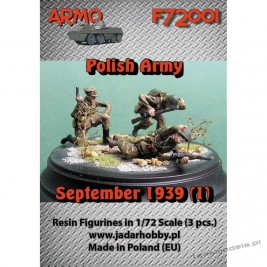 "Polish Infantry September 1939 ""Attack!"" Set. 1 - ARMO F72001"
