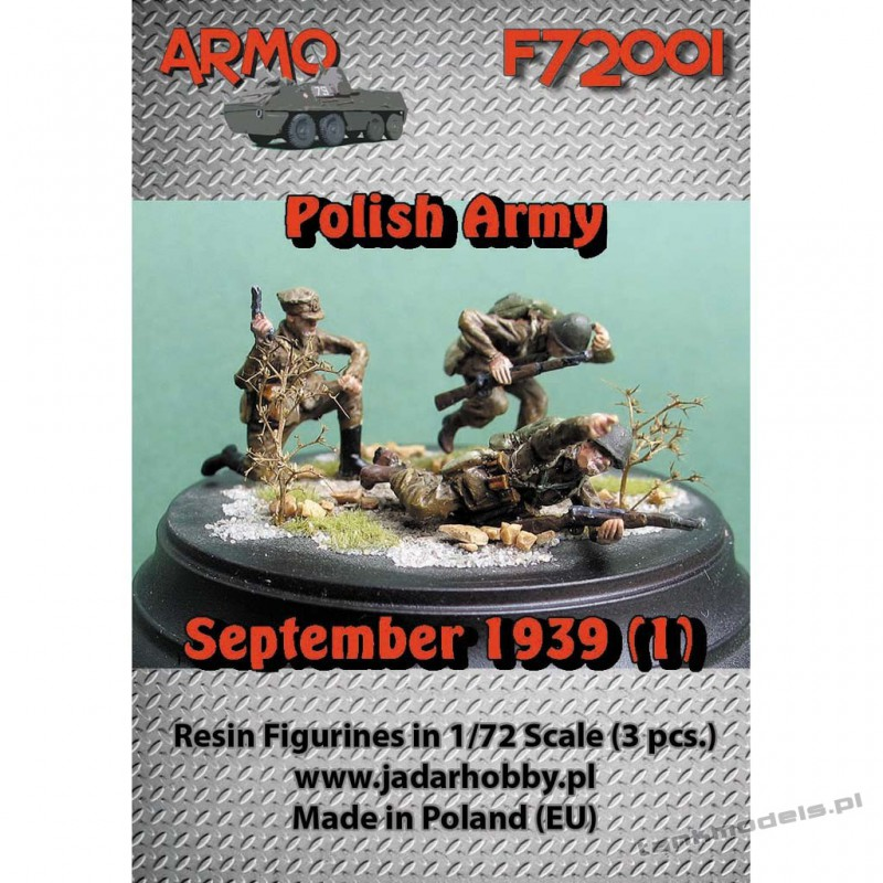 "Polish Infantry 1939 ""Attack!"" Set. 1 - ARMO F72001"