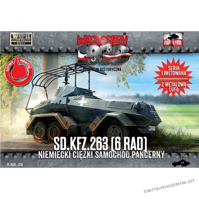 Sd.Kfz. 263 (6-Rad) - First To Fight PL1939-76