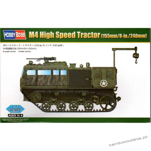 M4 High Speed Tractor (155mm/8-in./240mm) - Hobby Boss 82921