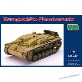 Sturmgeschutz Flammenwerfer - Unimodels 289