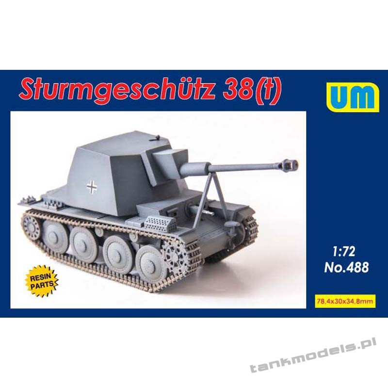 Sturmgeschutz 38(t) - Unimodels 488