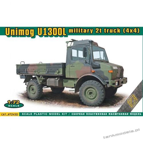 UNIMOG U1300L military 2t truck (4x4) - ACE 72450