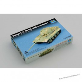 E-75 heavy german tank - Trumpeter 07125