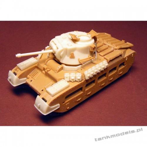 "A12 ""Matilda Frog"" (conv. for ESCI/Italeri) - Modell Trans 72411"