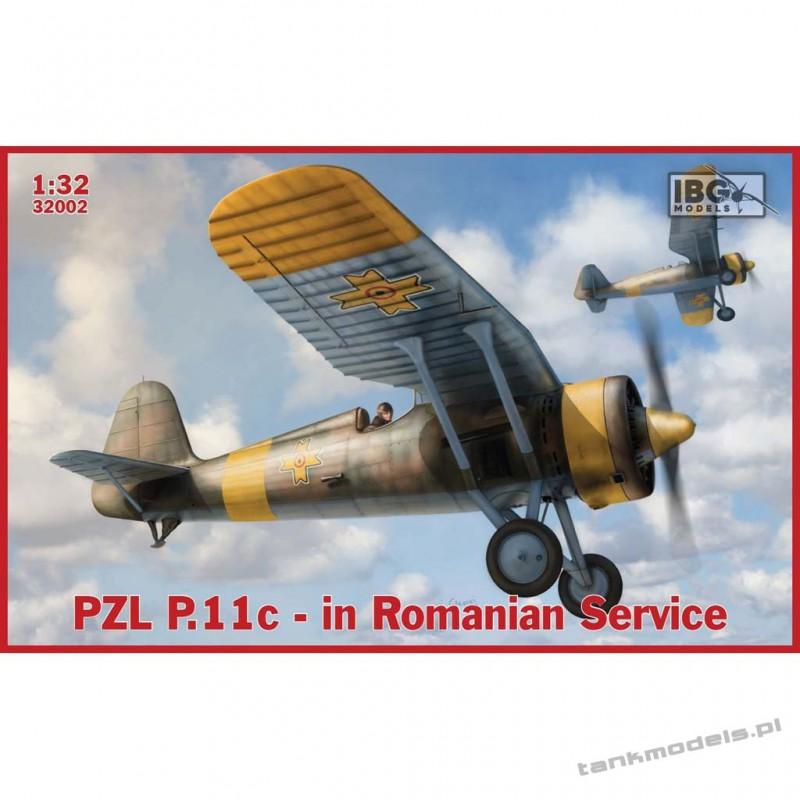 PZL P.11c Fighter in Romanian Service - IBG 32002