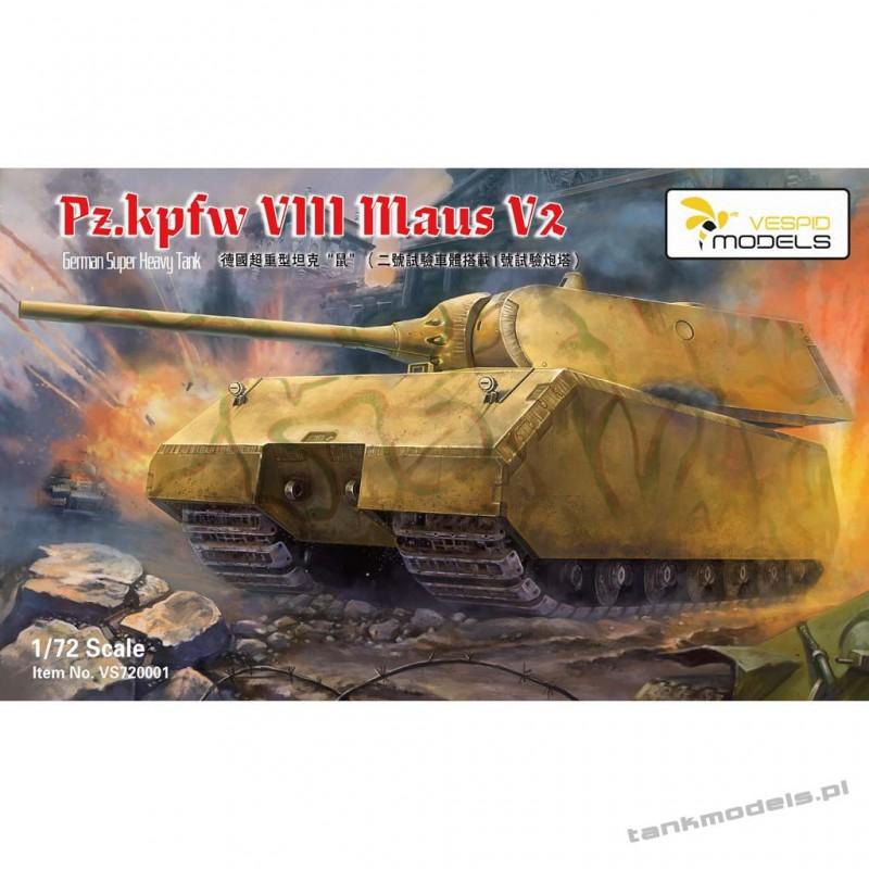 Sd.kfz VII Maus V2 German Heavy Tank - Vespid Models 720001