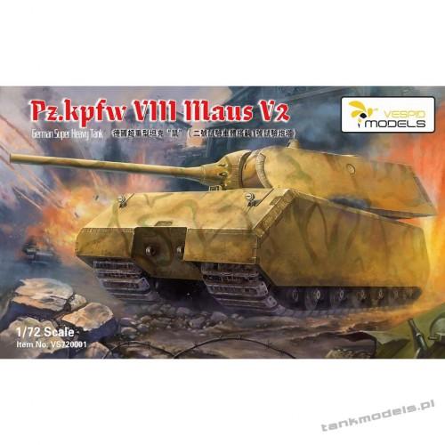 Panzer VIII Maus V2 German super heavy tank - Vespid Models 720001