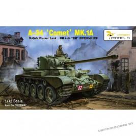 A-34 Comet Mk. IA British Cruiser Tank - Vespid Models 720002