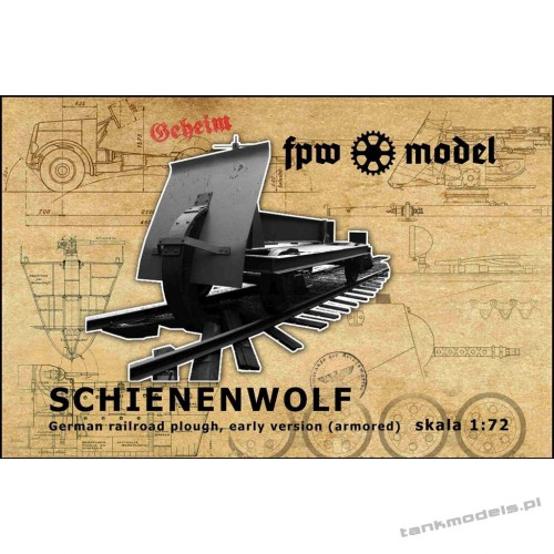 Schienenwolf (early version add armored) - FPW Models 72006
