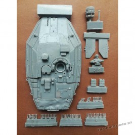 Merkava IV late incl. Droid (conv. for Hobby Boss) - Modell Trans 72202