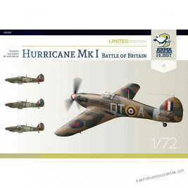 Hurricane Mk I - Battle of Britain - Limited Edition - Arma Hobby 70023